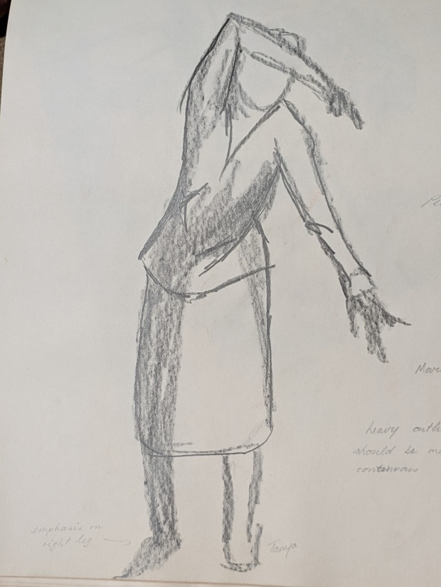Dancing Sketch | Sandra Burns Art