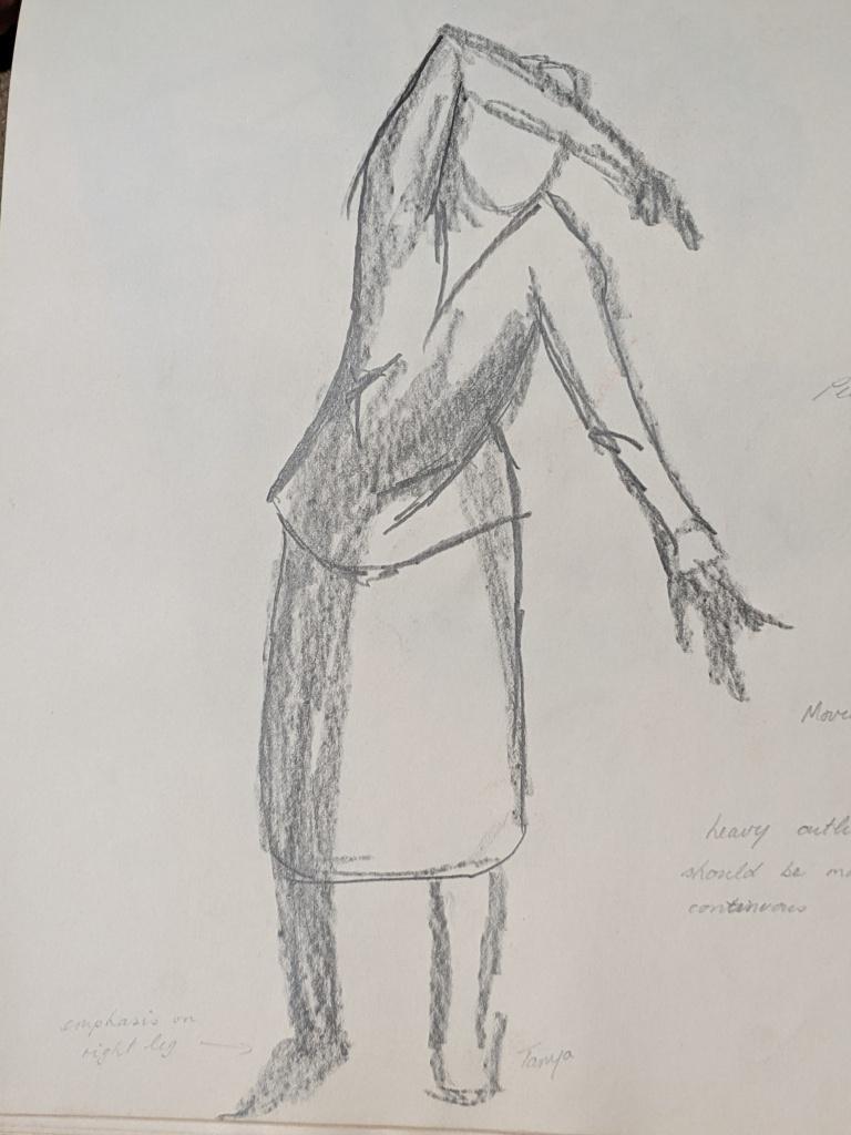 Dancing Sketch   Sandra Burns Art