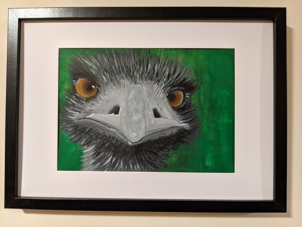 Eddie The Emu | Sandra Burns Art
