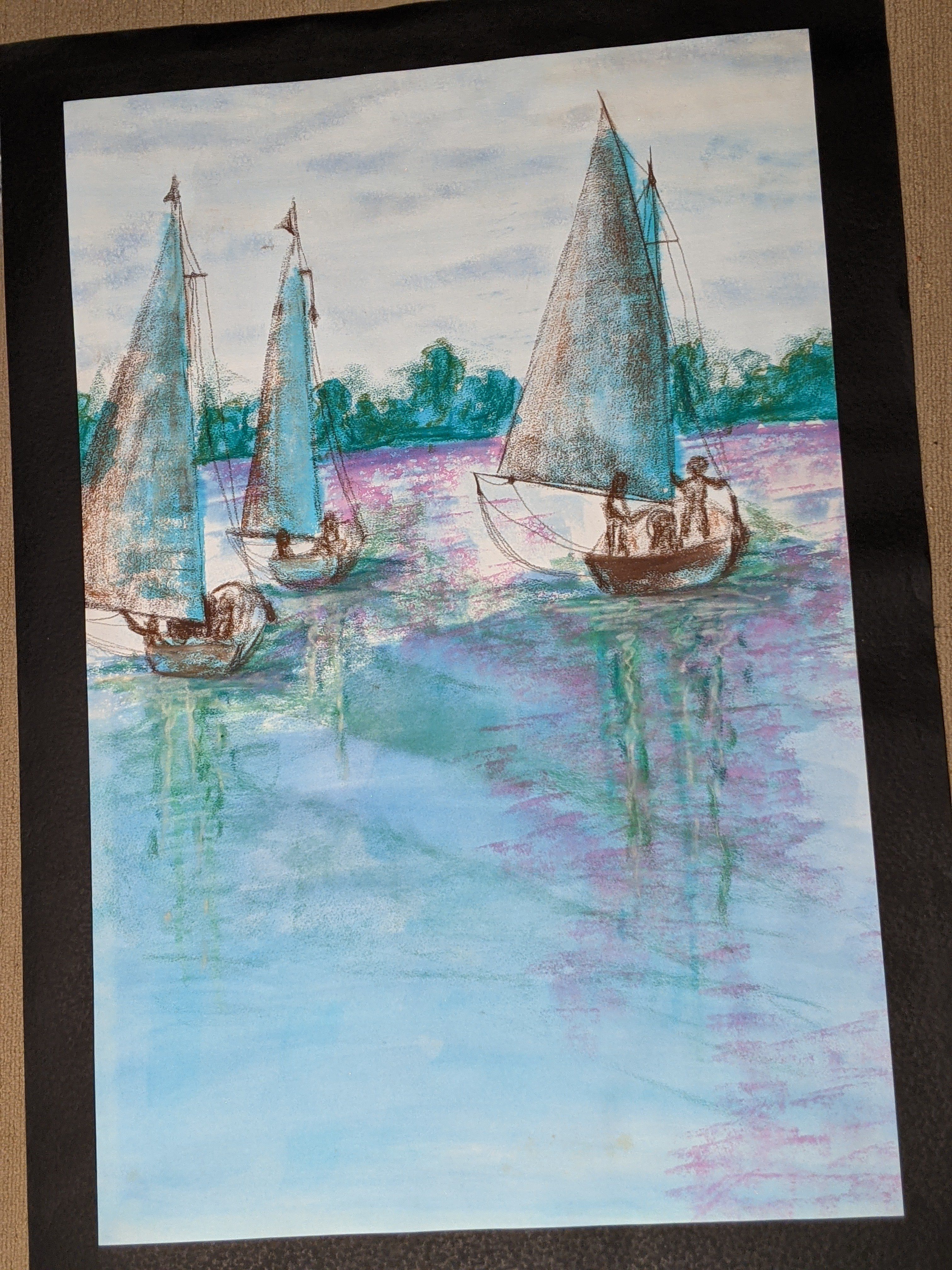Sunday Sailing | Sandra Burns Art