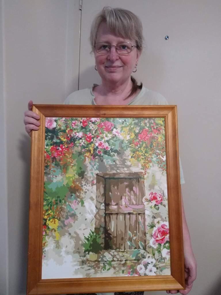 Garden Door | Sandra Burns Art (PBN)