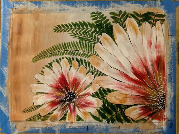 Flowers For You v1 | Sandra Burns Art