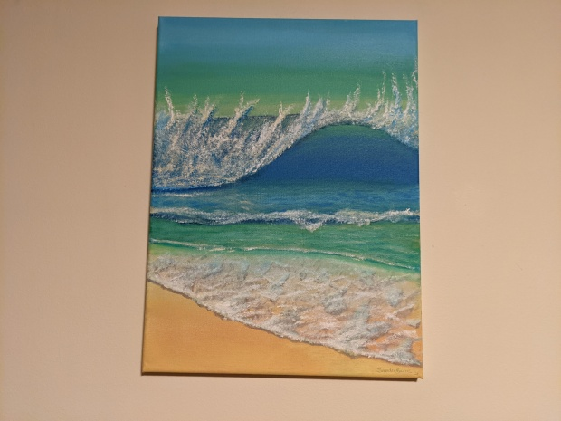 At The Beach | Sandra Burns Art