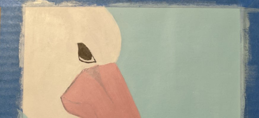 pelican work in progress | Sandra Burns Art
