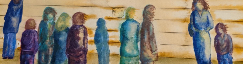Trains Due | Sandra Burns Art