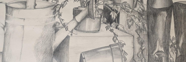 The Gardener | Sandra Burns Art
