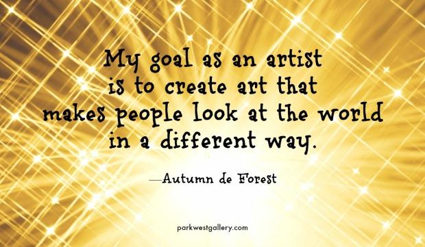 My goal as an artist | Sandra Burns Art