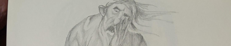 Sketchbook Giant (Realist) | Sandra Burns Art