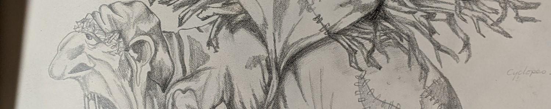 Sketchbook Hag | Sandra Burns Art