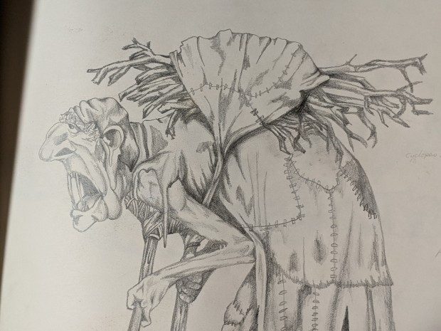 Sketchbook Hag   Sandra Burns Art