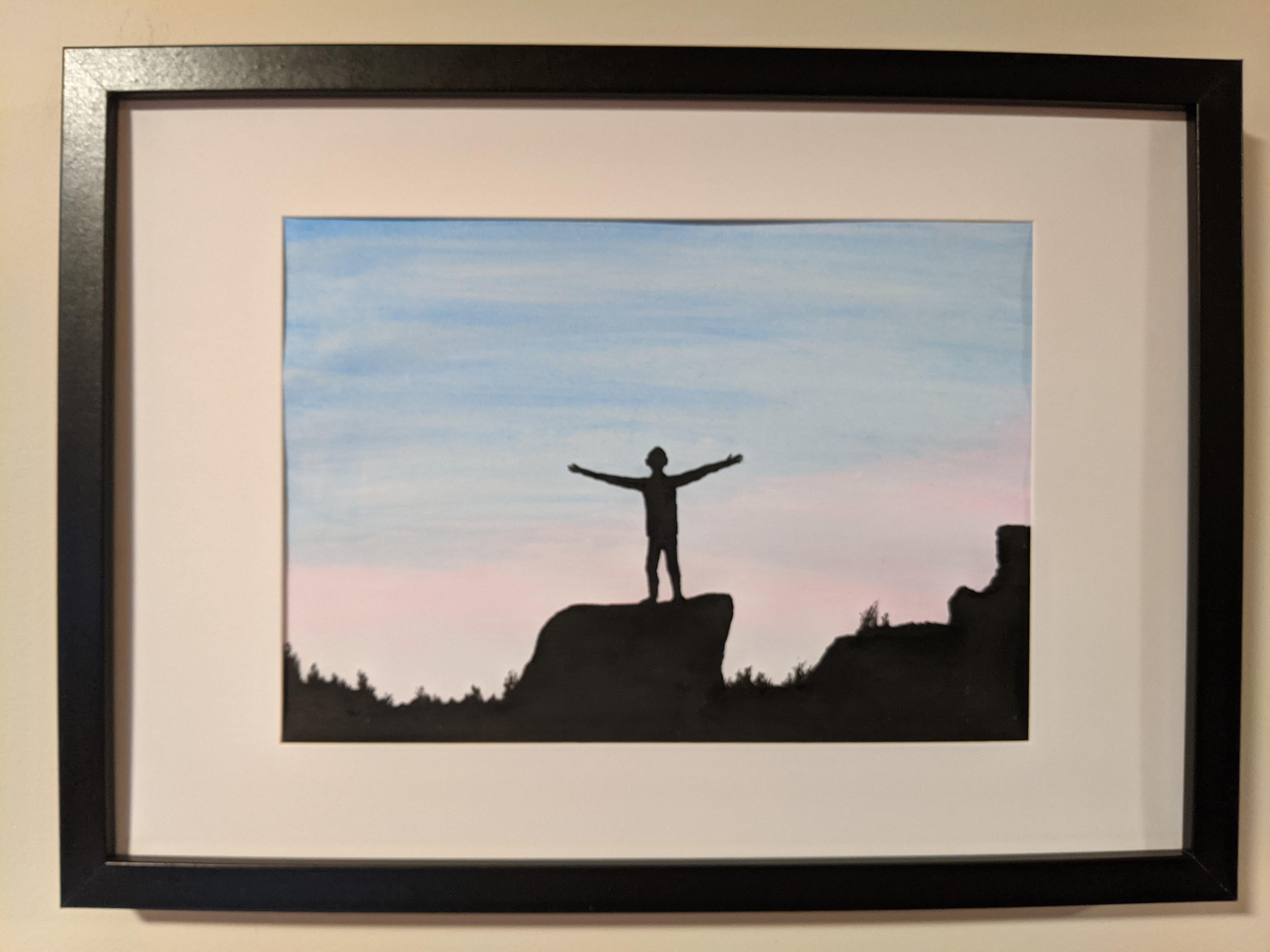 On Top Of The World | Sandra Burns Art