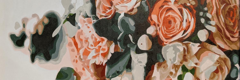 Rose Bouquet | Sandra Burns Art
