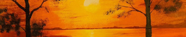 Peaceful Sunset | Sandra Burns Art