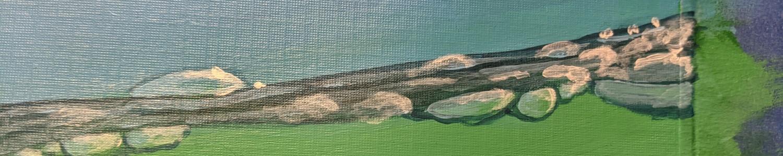 seal bubbles work in progress | Sandra Burns Art
