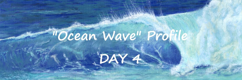 Ocean Wave profile day 4 | Sandra Burns ART
