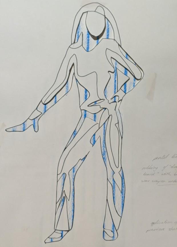 Pose Relief | Sandra Burns Art